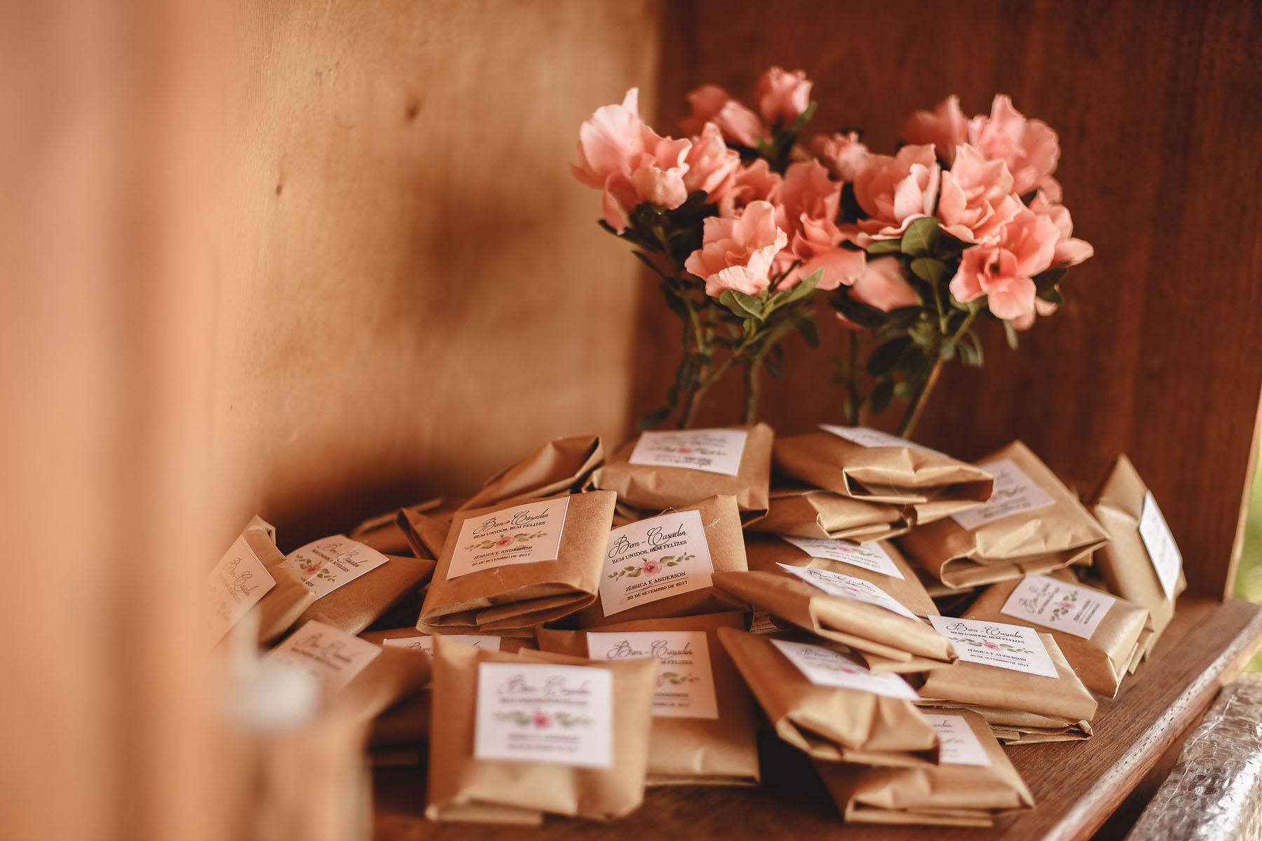 Casamento Rústico - Flores Plantadas