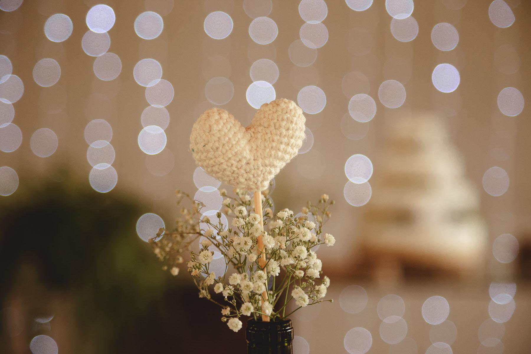 Casamento Rústico - Decoração DIY com Crochê