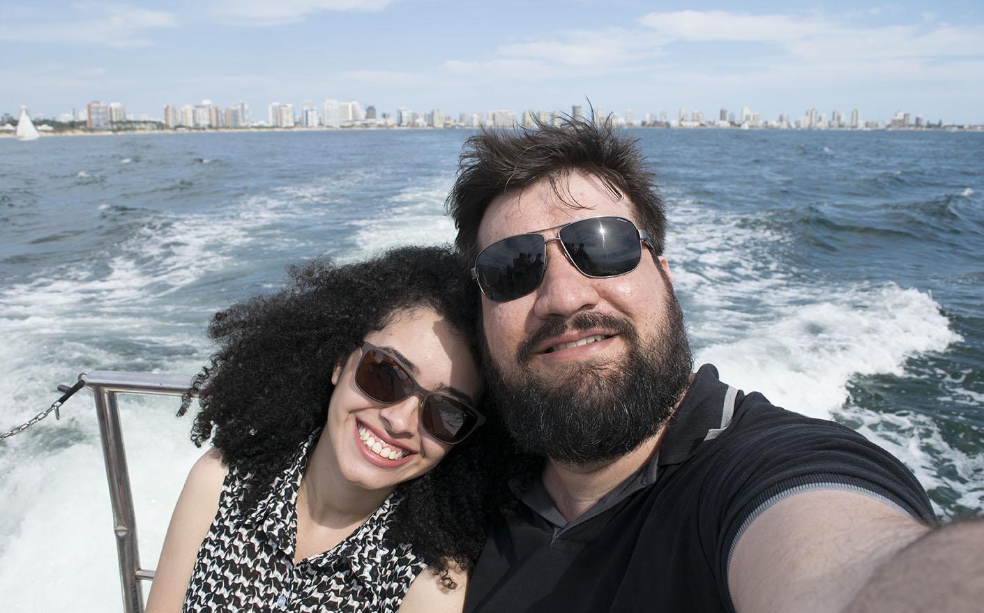 Cruzeiro Lua de Mel - Passeio de Lancha no Uruguai
