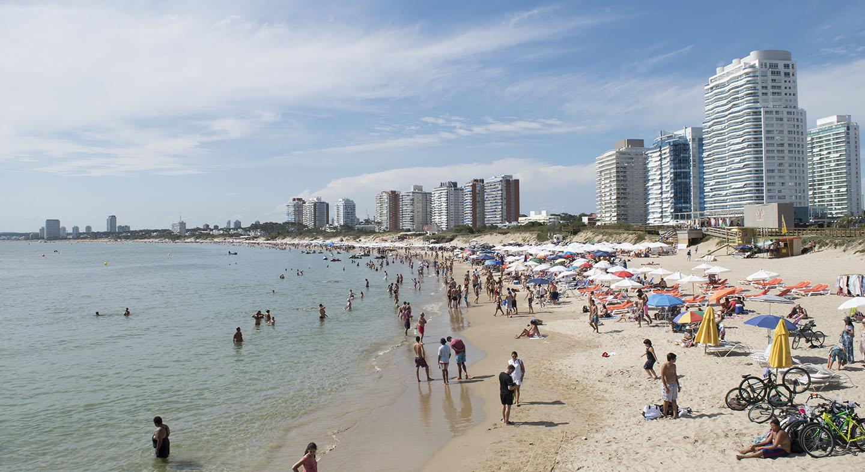 Playa Brava em Punta del Este - Uruguai