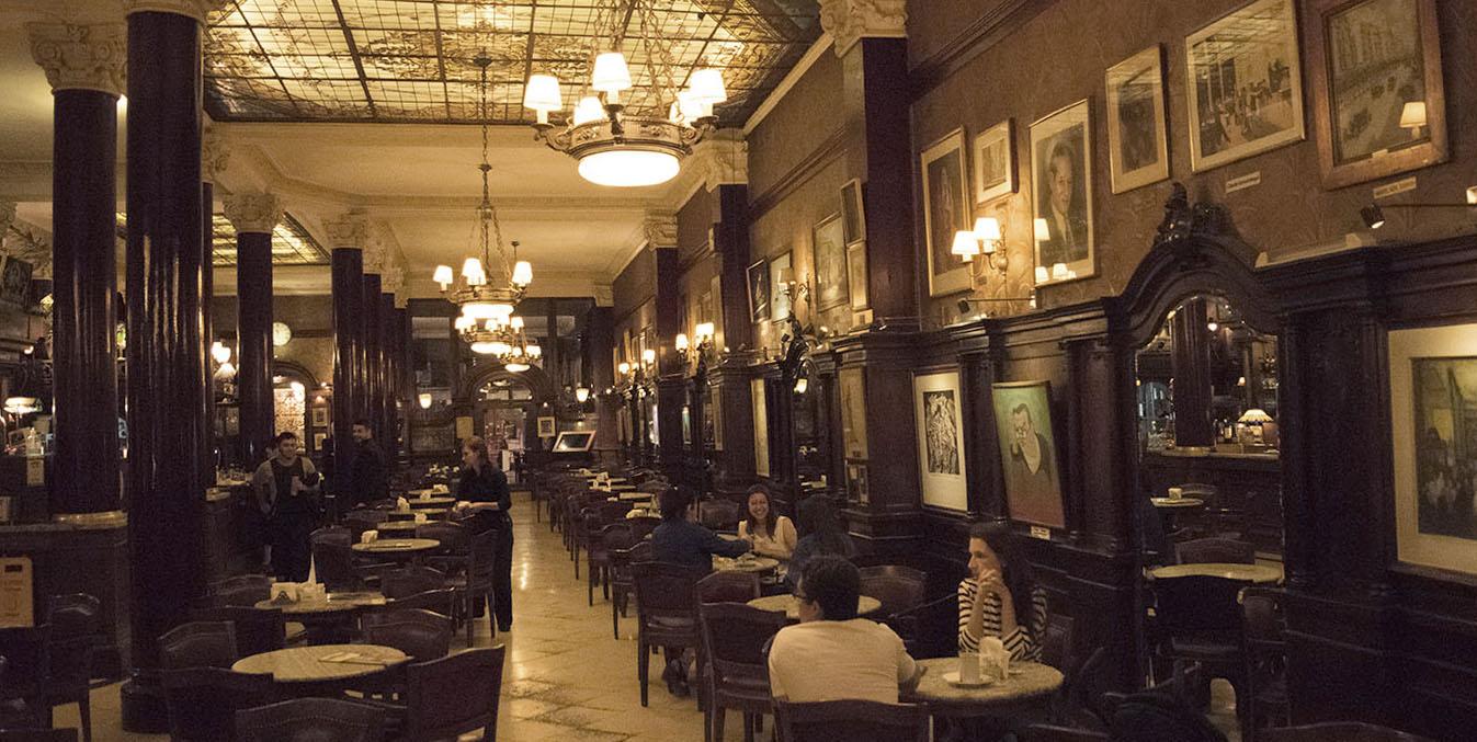 Primeiro Andar do Cafe Tortoni Buenos Aires