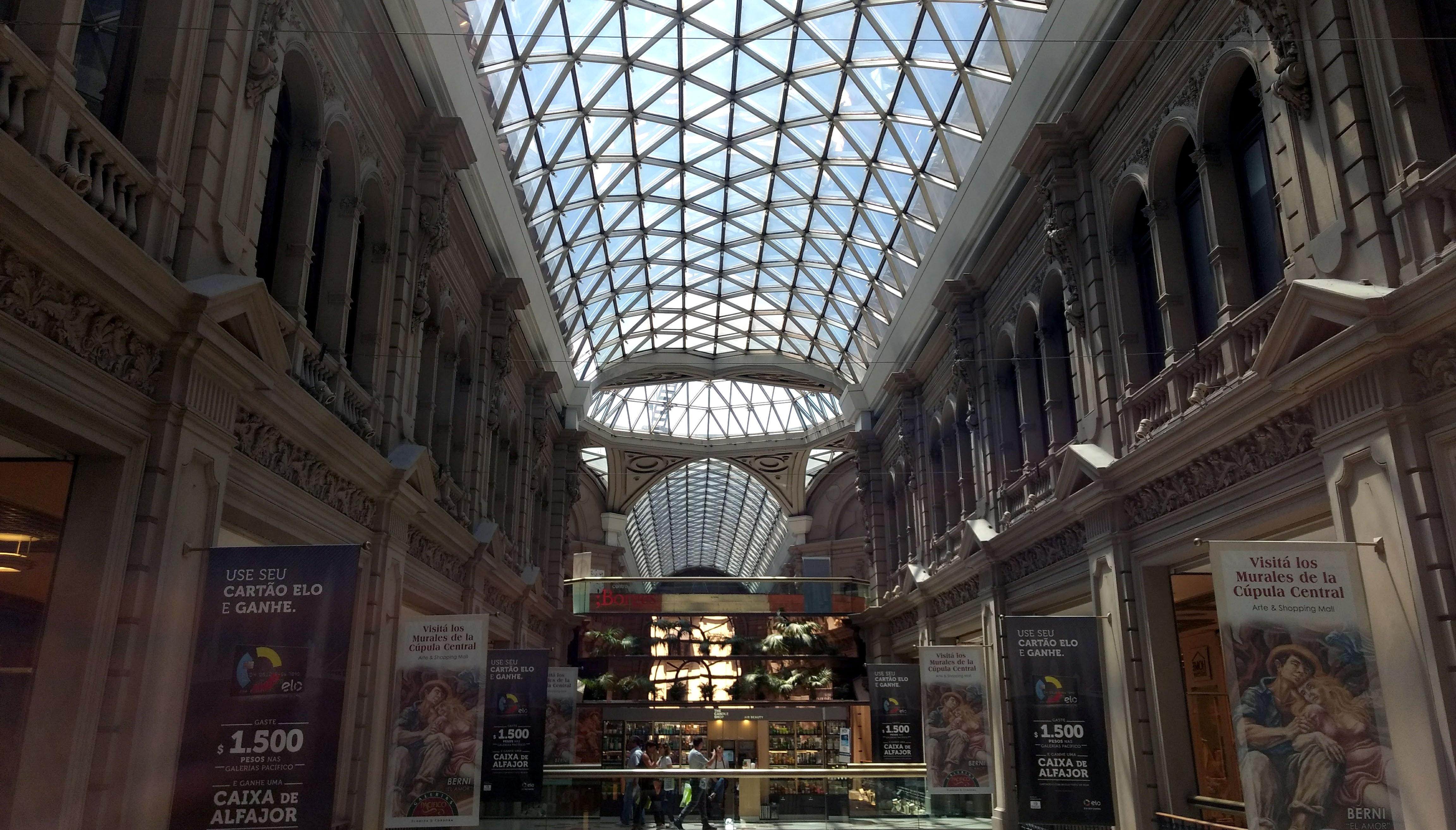 Shopping Galerias Pacifico Calle FLorida - 24 Horas em Buenos Aires