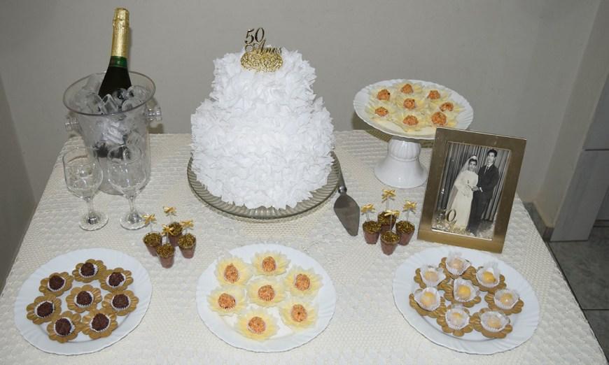 Bodas de Ouro - Festa de 50 Anos de Casados em Família