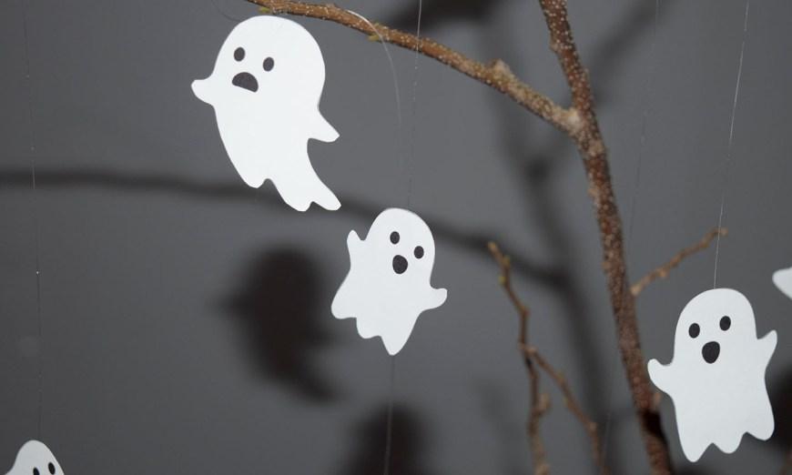 Decoração de Halloween Simples e Sustentável DIY