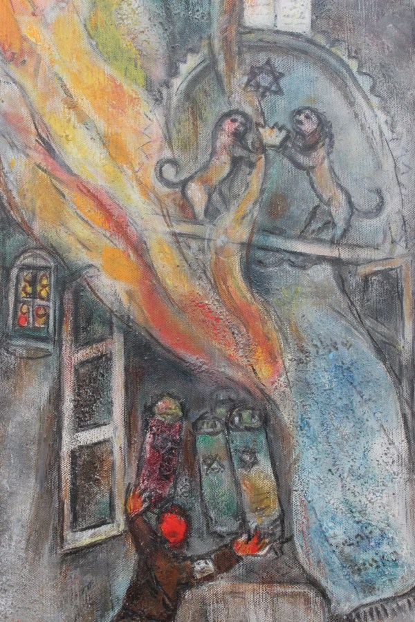Jurnal American 10 . Marc Chagall La Art Institute Of