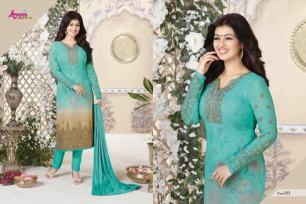 avon-aarohi-vol.-13-georgette-fabric-plazzo-bottom-salwar-kameez-8