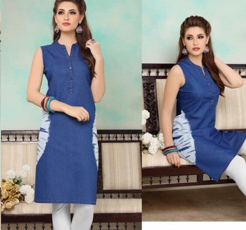 shine-vol.-2-denim-fabric-stylish-party-wea-casual-kurtis-wholesalers-manufacturers-12
