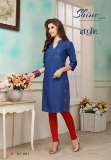 shine-vol.-2-denim-fabric-stylish-party-wea-casual-kurtis-wholesalers-manufacturers-2