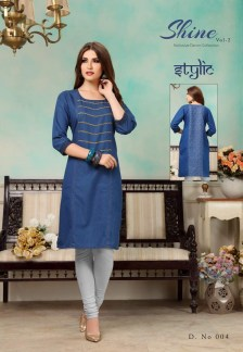 shine-vol.-2-denim-fabric-stylish-party-wea-casual-kurtis-wholesalers-manufacturers-3