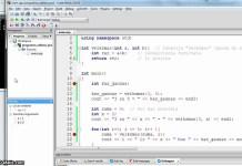 C++ programos veiksmų sekimas 2  – sumos skaiciavimas