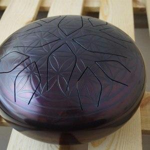 Фиолетовый Цветок Жизни. Глюкофон (30см)