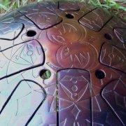 Ваджра-барабан «Сиреневый сон» 30 см