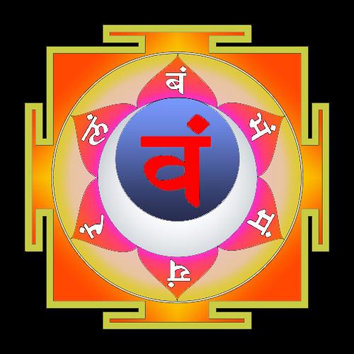 Слоги свадхистхана-чакры
