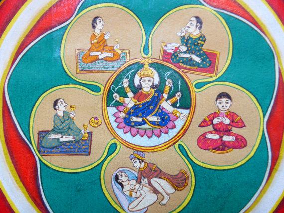 Древний тантрический ритуал возлияния и полового акта - панчамакара и майтхуна