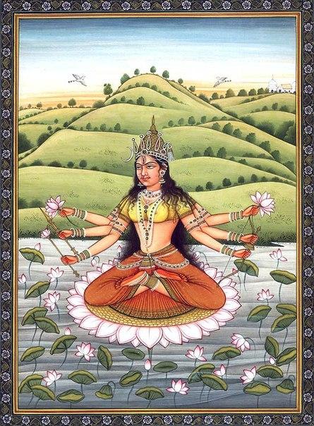 Богиня Бхуванешвари