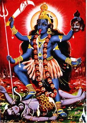 Богиня Кали - одно из воплощений