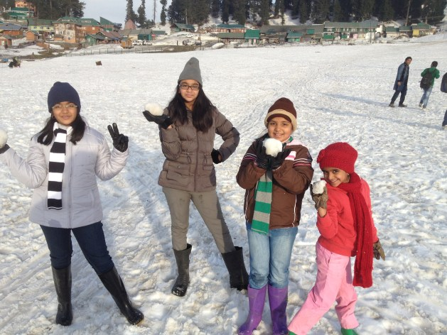 Holiday at Kashmir