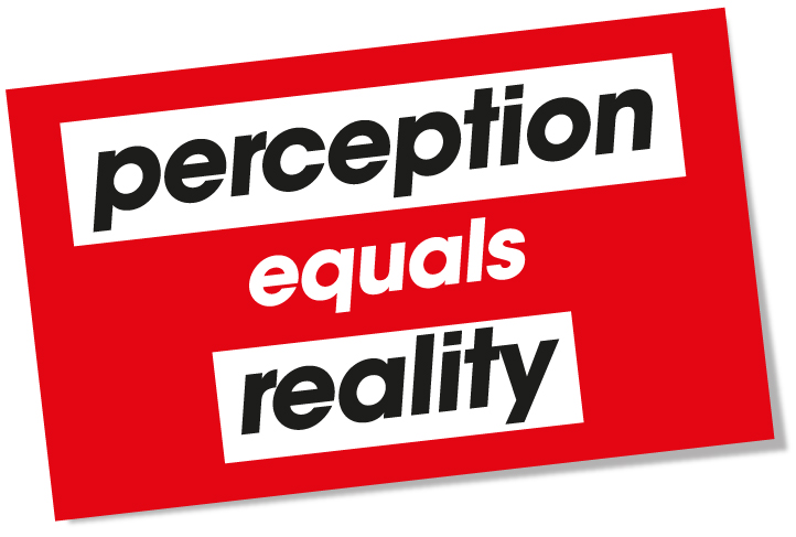 Examples List on Perception Reality