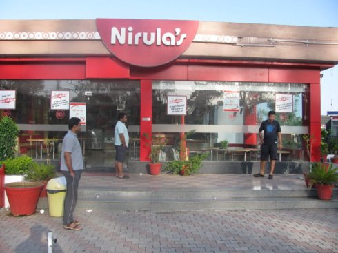 Nirula's Just after Pthankot, No breakfast before 8 AM