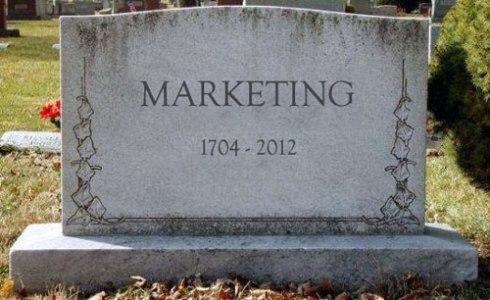 marketing-is-dead