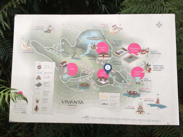 Taj coorg Short map