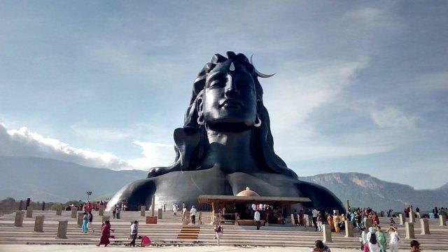 grand Adiyogi statue