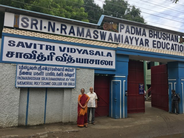 Ramaswamiayya Education