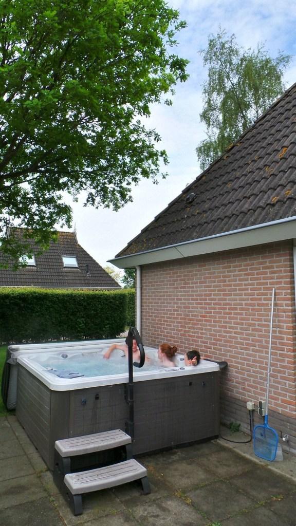 It Wiid, bungalowpark, Eernewoud, Jacuzzi