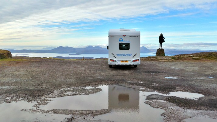 vakantaseren, Schotland, camper