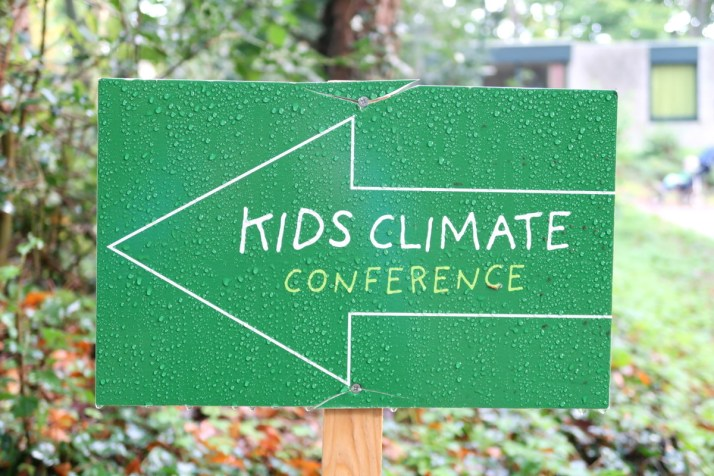 Kids climate conference, duurzaam vakantaseren