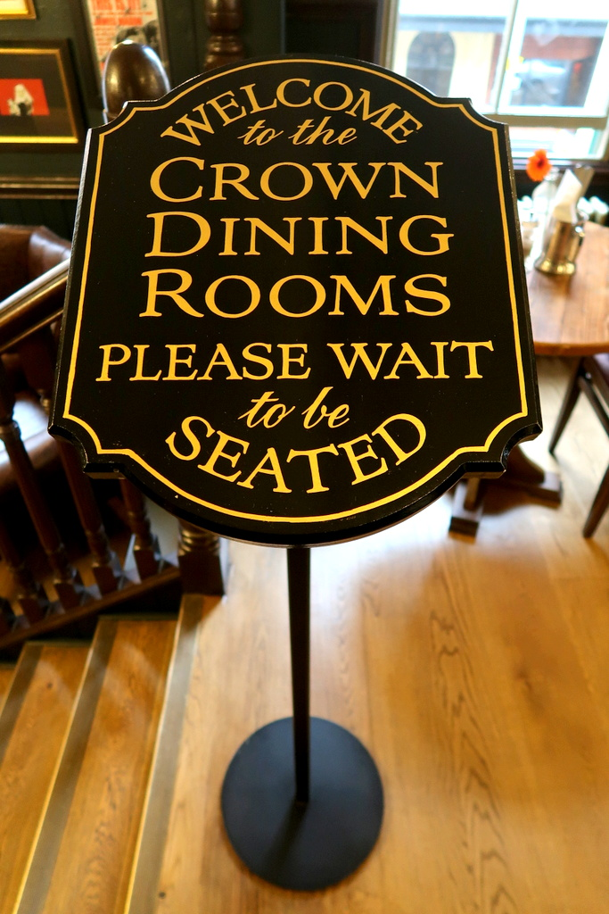 the crown bar, belfast, vakantaseren