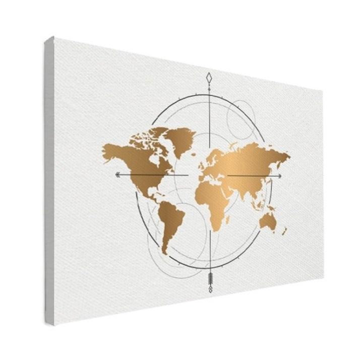 Wereldkaarten, vakantaseren
