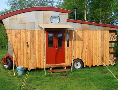 vakantaseren, tiny house, tiny house on wheels, voscheheugte