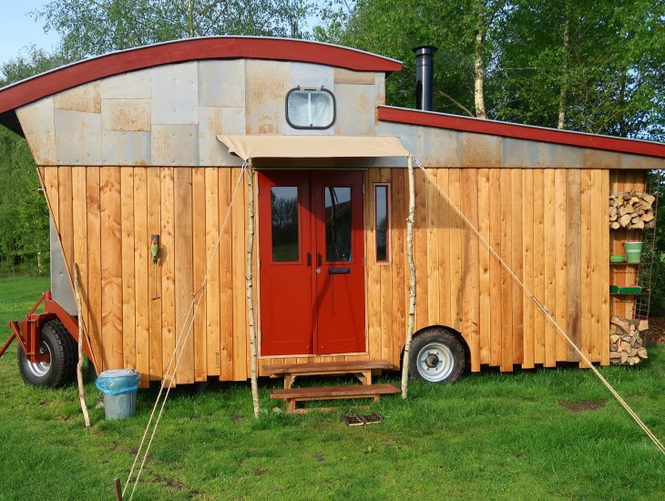 vakantaseren, tiny house, tiny house on wheels, voscheheugte