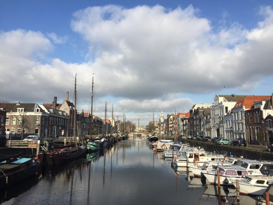 Delfshaven, Rotterdam, NS WAndeling