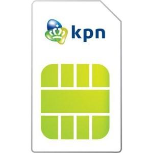KPN Prepaid Startkaart (3in1) USIM sim-kaart