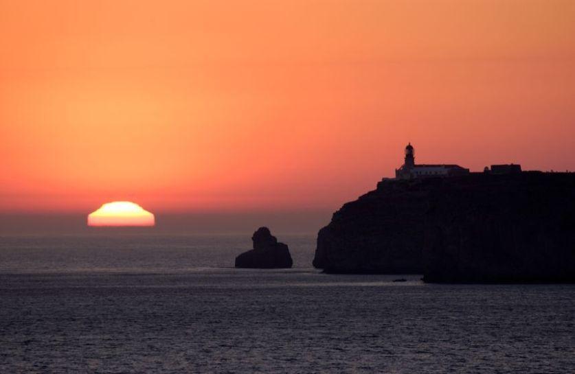 Zonsondergang Cabo de São Vicente