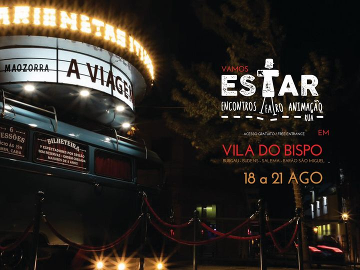 Estar straattheater festival in Vila do Bispo