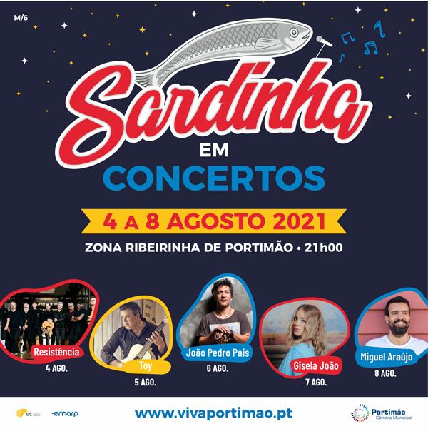 Festival da sardinha in Portimão
