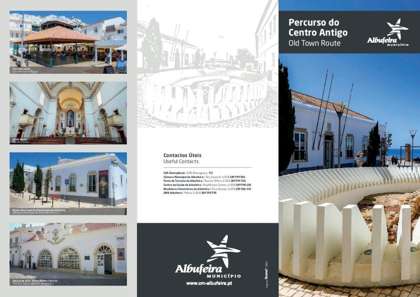 Old town route Albufeira