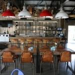 Het restaurant van binnen