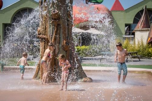 Outdoor fonteinplein