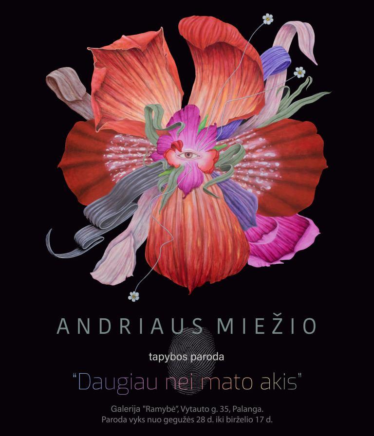 Andriaus Miežio tapybos paroda 28/05 – 17/06
