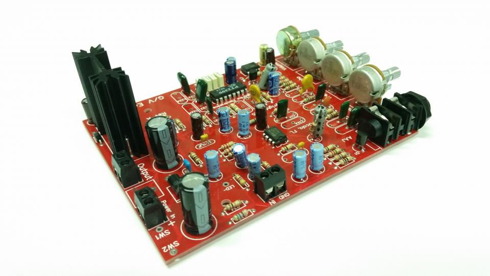 Echo Reverb Effects Schematic Circuit Another Electronics Circuit