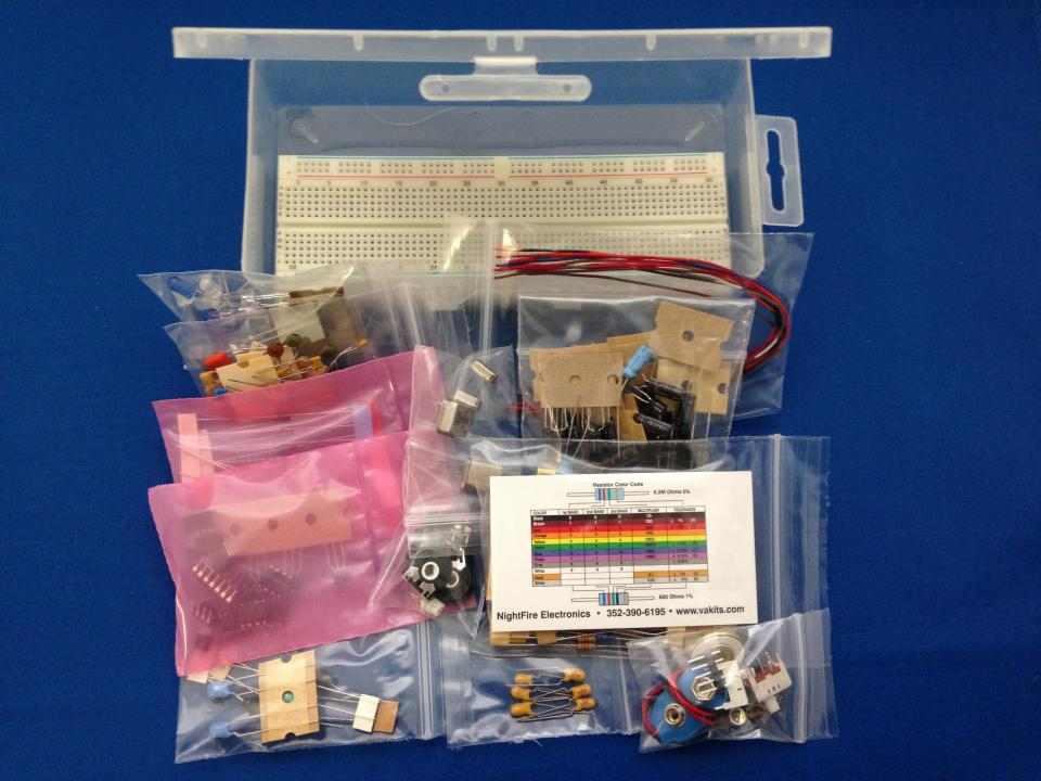 Solderless Breadboard Op Amp Kit 3 1240 Nightfire Electronics