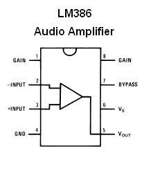 LM1458 Op Amp & LM386 Audio Amplifier DIP Kit (#1340