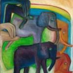 Shadow.Display- Elephant