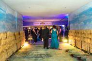 Into the ballroom foyer