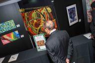 Silent art auction