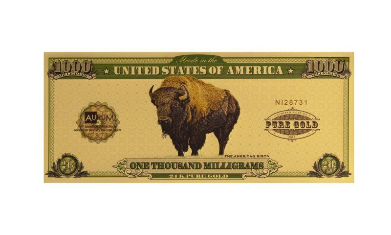 Bison One Gram Aurum - Valaurum, Inc.